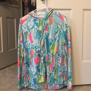 Never worn Lilly Pulitzer Mooring Hoodie
